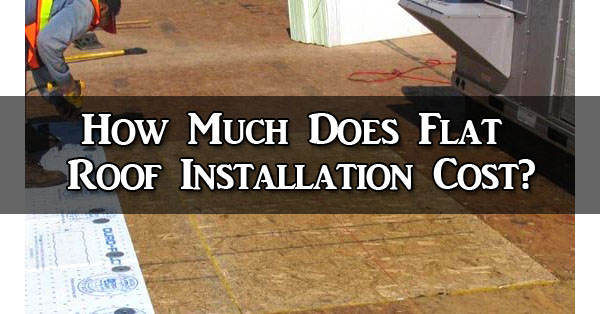 flat roof installation costs