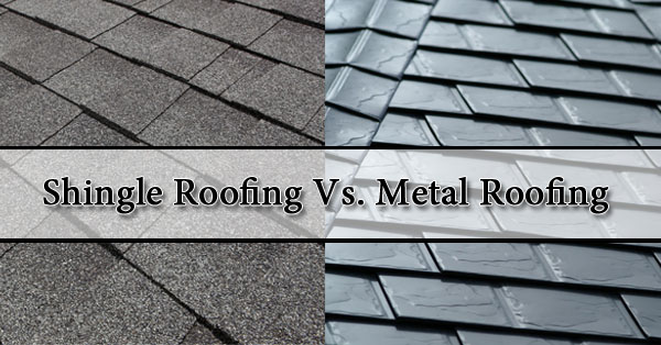 Shingle Roofing Vs Metal Roofing Phoenix